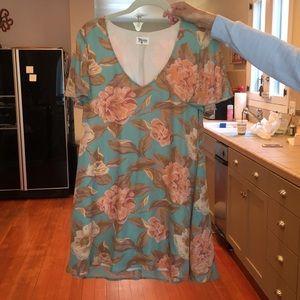 Show me your mumu flutter sleeve swing dress